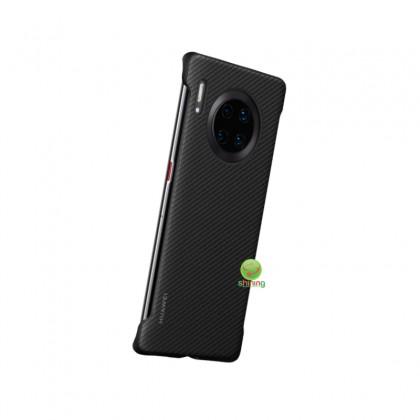Huawei Mate 30 Pro PU Case Black