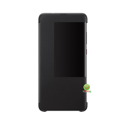 Huawei Mate 20 Smart Flip Cover Black