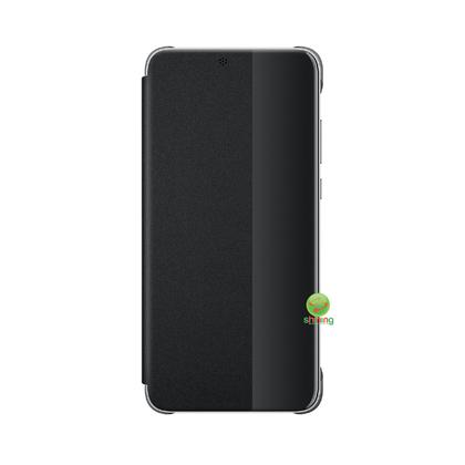 Huawei P20 Smart Window Flip Cover Black