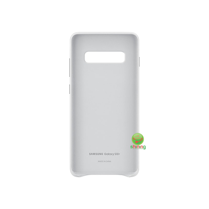 """SME (O) LEATHER COVER GALAXY S10+ 6.4"""" WHITE"""