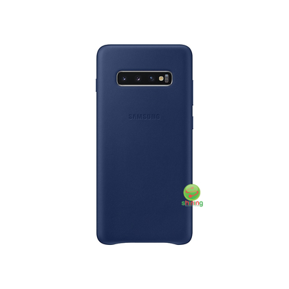 "SME (O) LEATHER COVER GALAXY S10+ 6.4"" NAVY"