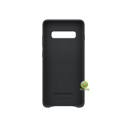 "SME (O) LEATHER COVER GALAXY S10+ 6.4"" BLACK"