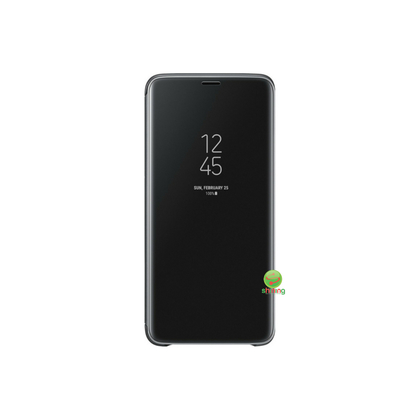 SME (O) CLEAR VIEW STANDING COVER GALAXY S9 PLUS BLACK