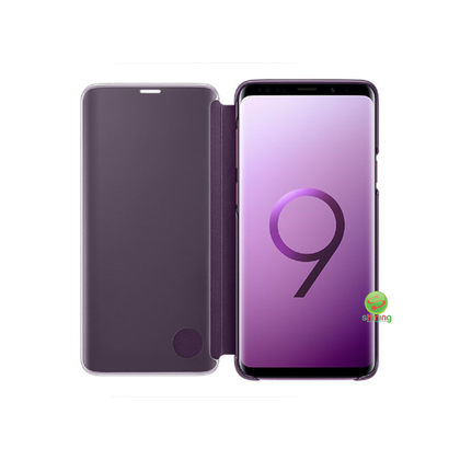SME (O) CLEAR VIEW STANDING COVER GALAXY S9 PLUS VIOLET