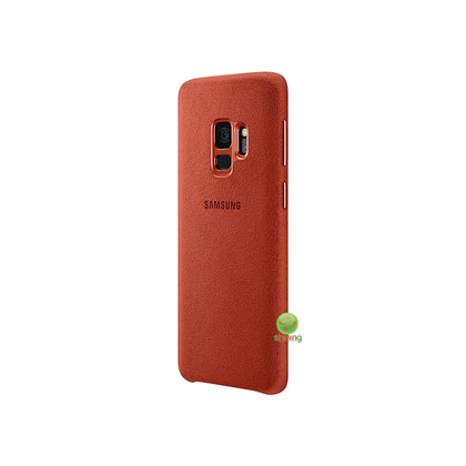SME (O) ALCANTARA COVER GALAXY S9 RED