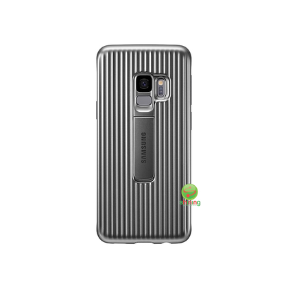 SME (O) PROTECTIVE STANDING COVER GALAXY S9 SILVER