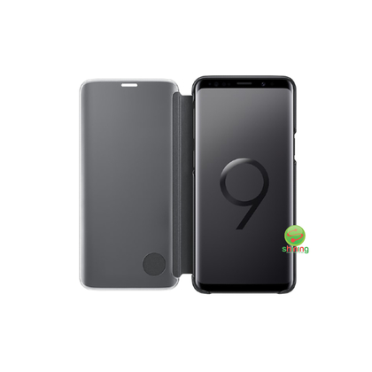 SME (O) CLEAR VIEW STANDING COVER GALAXY S9 BLACK