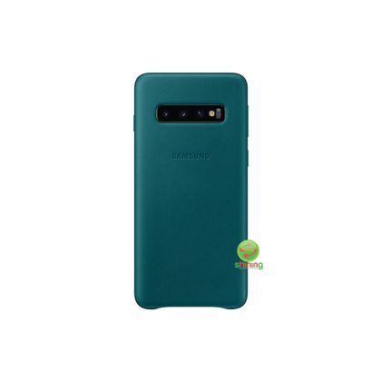 """SME (O) LEATHER COVER GALAXY S10 6.1"""" GREEN"""