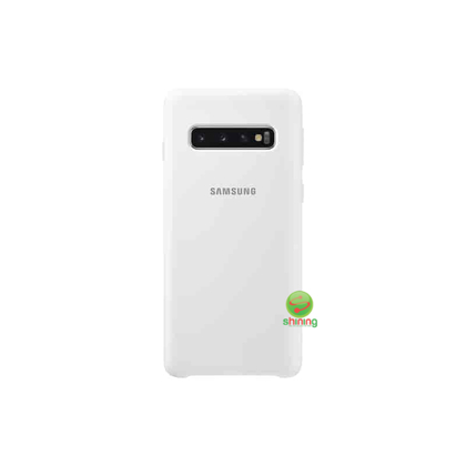 "SME (O) SILICON COVER GALAXY S10 6.1"" WHITE"