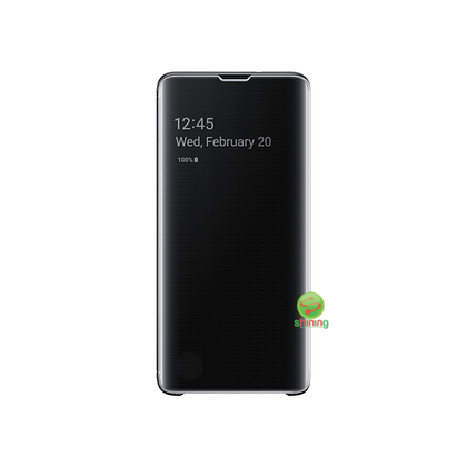 "SME (O) CLEAR VIEW COVER GALAXY S10 6.1"" BLACK"