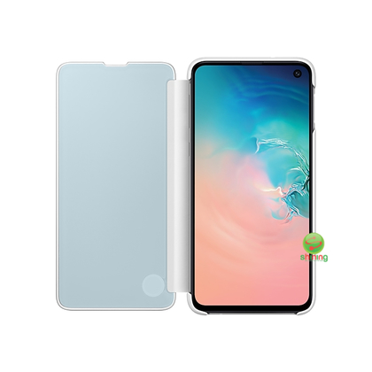 "SME (O) CLEAR VIEW COVER GALAXY S10E 5.8"" WHITE"