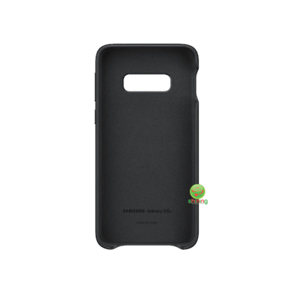 "SME (O) LEATHER COVER GALAXY S10E 5.8"" BLACK"