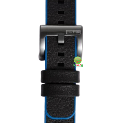 SME (O) GEAR SPORT HYBRID WATCH STRAP (BLUE/BLACK)
