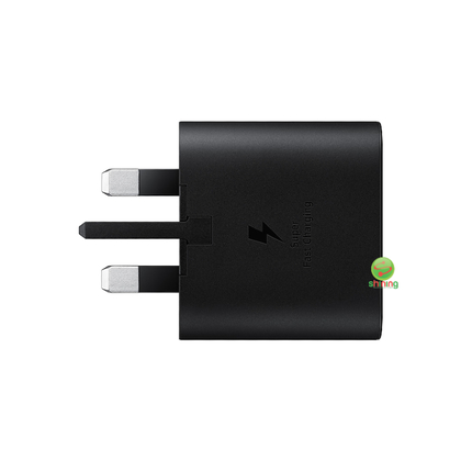 Samsung Travel Super Fast Charger (25W) USB Type C To Type C Cable Black