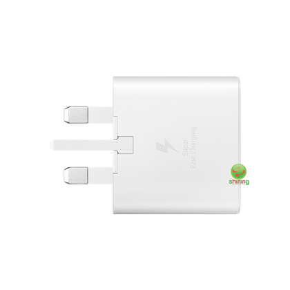 Samsung Travel Super Fast Charger (25W) USB Type C To Type C Cable White