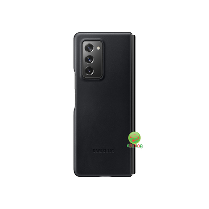 Samsung Galaxy Z Fold 2 Leather Cover Black