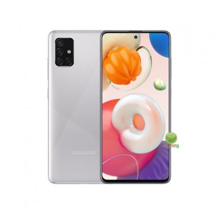 Samsung Galaxy A51 256GB (SM-A515F/DSN)(Haze Crush Silver)