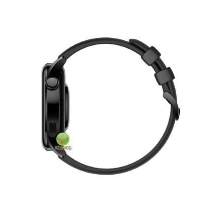 Huawei Watch 3 (GLL-AL04) Black Fluoroelastomer Strap (Black)