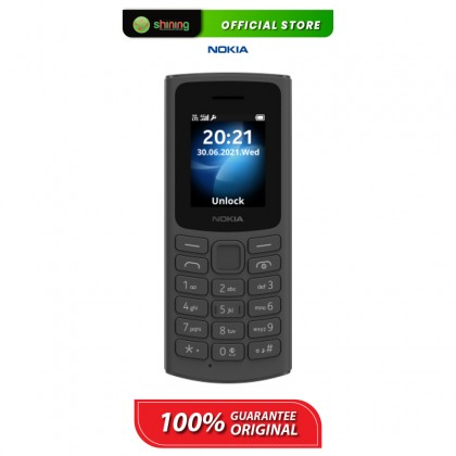 Nokia 105 4G (TA-1385) Dual Sim (Black)