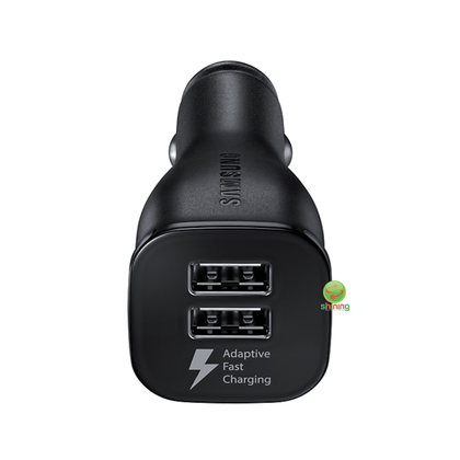 Samsung Dual Fast Charge Car Charger (Without Cable) Black